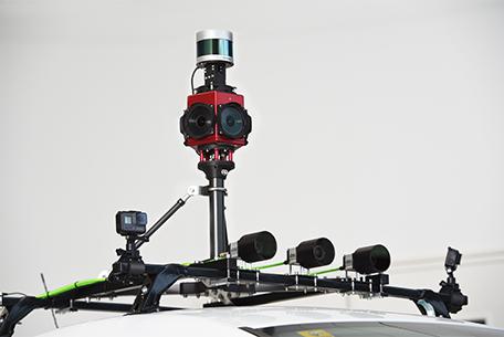 data acquisition engineering services on Zoe1 autonomous vehicle