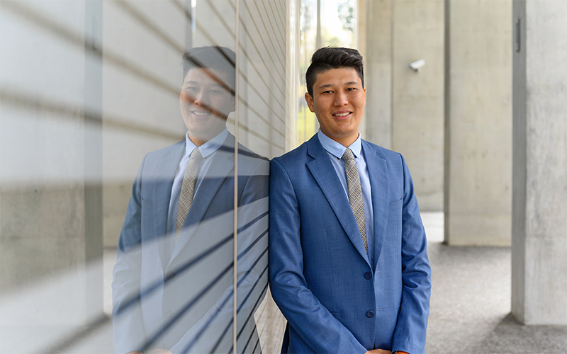 Persecution and perseverance lead law student to help others