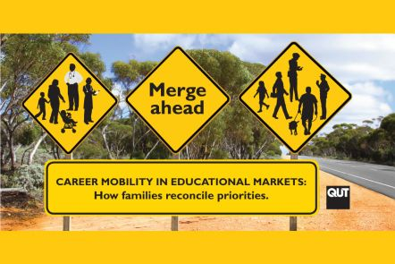 How do families reconcile mobility for career purposes with their educational plans?
