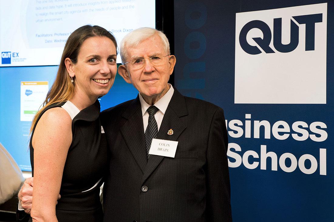 QUT - Business School - Colin Brain Fellowship