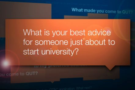 Advice for new students