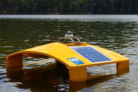 Robotic boats to protect our waterways
