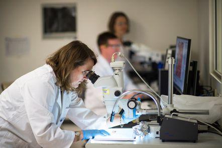 Expert scientists, specialist equipment
