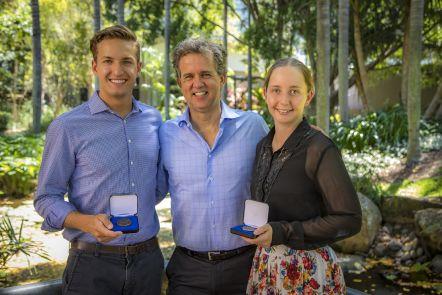 Dean's Scholars honoured with Kindler Medal