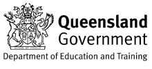 QLD Government Department of Education Logo