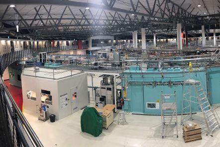 Inside the Australian Synchrotron