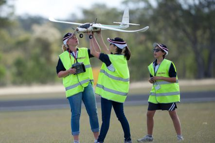 Join an unmanned aerial vehicle team