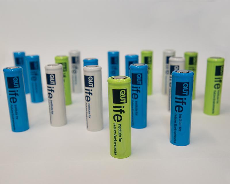 QUT lithium-ion batteries