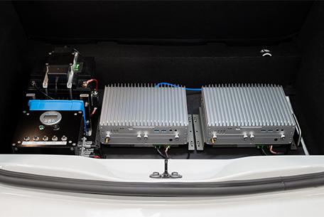 Zoe 1 autonomous vehicle