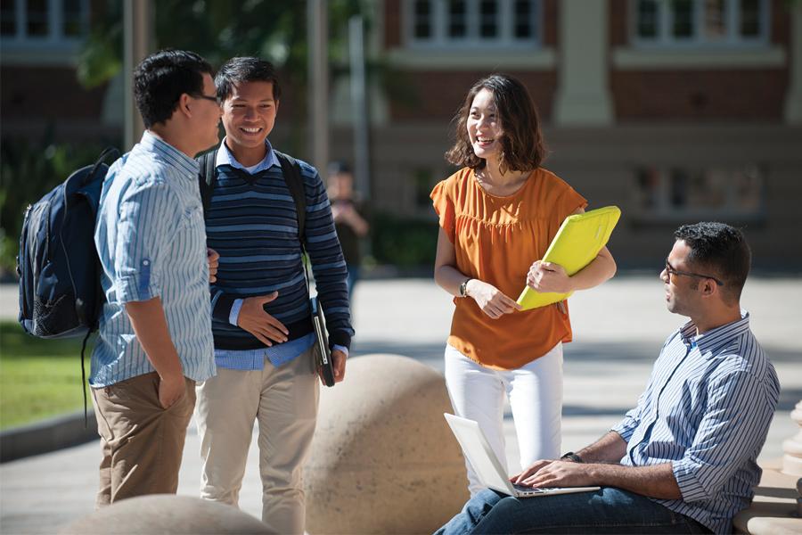 QUT - International students